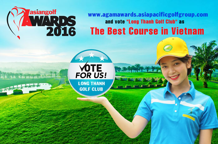 ASIAN GOLF AWARDS 2016  - VOTE FOR LONG THANH GOLF